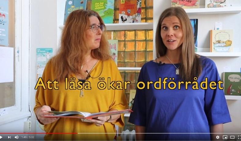 Läsambassadörerna berättar om nyttan med läsning